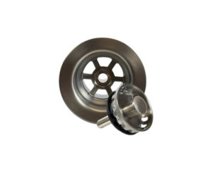 "2-1/2"" Deluxe Stemball Bar Sink Strainer"